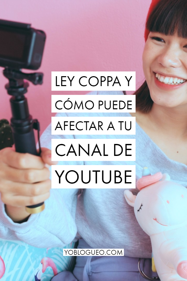 ley coppa para youtube