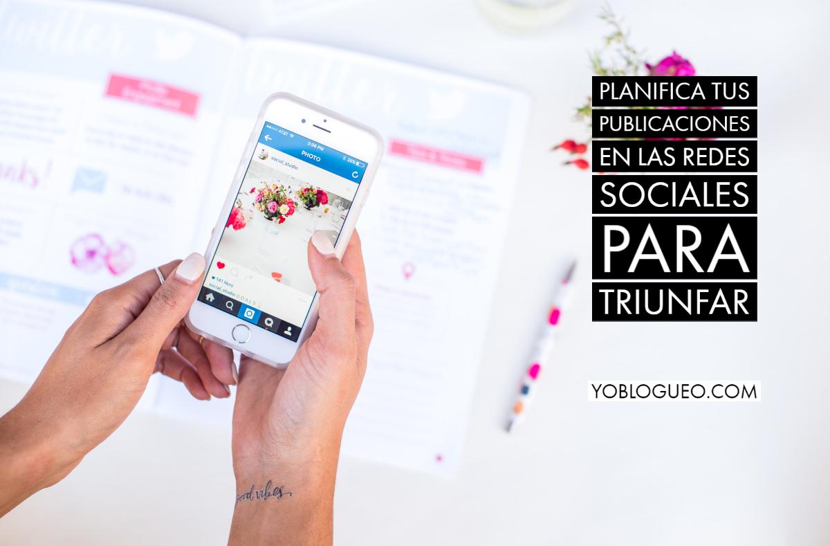 planifica tus redes sociales